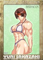 Ms KOF Entry No.05 Yuri by RENtb