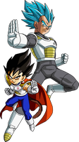 Vegeta The Proud Saiyan Prince by BrusselTheSaiyan