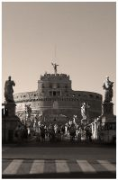 Castel Sant'Angelo by Tippy-The-Bunny