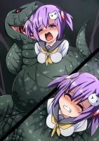 Hana Vs Snake by Arniro111