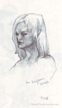 The Warghlain Witch by CheezyCat