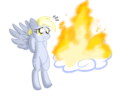 6 of 100 Ponies - Derpy... How In The by ZaneZandell