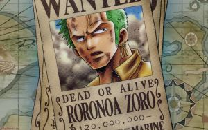 One Piece - Zoro Wanted by DharionDrahl