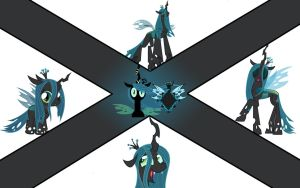 Queen Chrysalis (wallpaper number 8) by axelrules1231