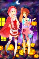 trick or treat by MikaeHei