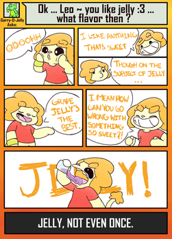 Cn'A #5: Jelly by LeoTheLionel