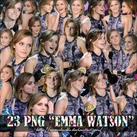 Pack 7 Emma Watson Png by oscarelnoble