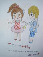 Playful Kiss III by Hayoma