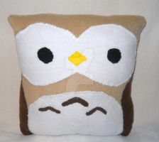 Owl Pillow SOLD by LenKitty