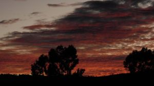 Red clouds by the-kender