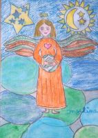 angel of wonders of life by ingeline-art