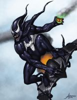 Green Goblin Symbiote by JamesDenton
