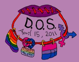 Day of Silence 2011 Design by Niccola-vonMask