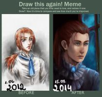 Draw this again! by Allegro97