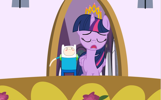Finn and Twilight Duet by Broxome