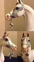 My first attempt - Breyer/Stone Traditional Halter by Scutterland