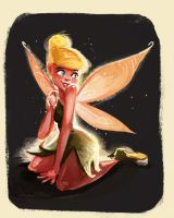 Daily sketch tink by Sakurabe