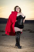 Super Red by lvpinupgirl