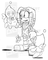 Tikal the Echidna by NinjaHaku21