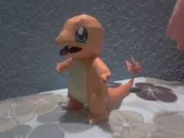 charmander papercraft by javierini
