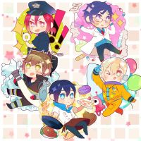 Free! Future Fish keychains by Tomoji