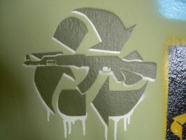 Recycle Gunz by sensisiderockaz