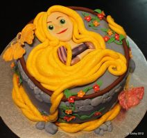 Rapunzel Birthday Cake by lenslady