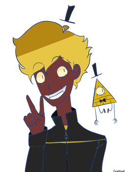 Kid! Bill Cipher by hypocrypticalnerd