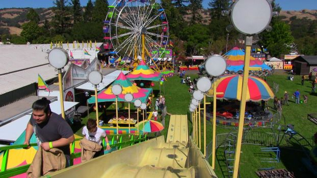Carnival Giant Slide (Photography from HOMETOWN) by juliaeditz