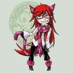 Comish - FC - Grell by oneoftwo