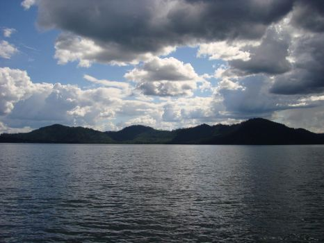 Storm Front, Priest Lake by Freemag