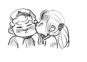 Gidpacif Smooches pt 1 by ScoutAssimilator
