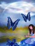 Butterfly Whispers by VisualPoetress