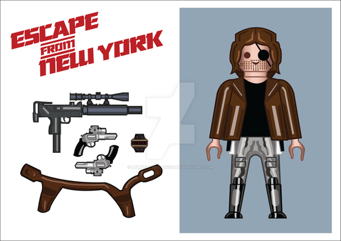 Playmobil Snake Plissken by Lymphatic-Catfish
