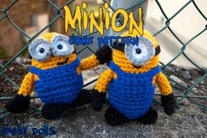 Minions (libre pattern) by Anxocunningham