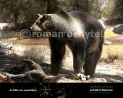 Arctotherium angustidens by Rom-u