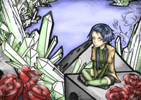 ice, dice and roses by aki-99o