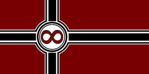 8chan flag by androlphegax