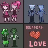 Support Love by AwezumArt