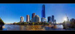 Southbank Panorama by WiDoWm4k3r