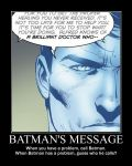 Motivation - Batman's Message by Songue