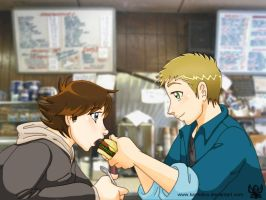 Diner by KamiDiox