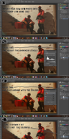 How to Edit SFM Pictures in Photoshop by Robogineer