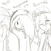 me with my friends by marcyleecookie23
