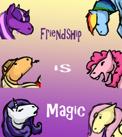 friendship is magic by stickerheart
