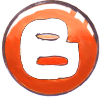 Blogger button by IDROIDMONKEY
