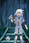 Genis and his new weapon... by kojika