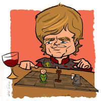 Tyrion's Game by bangalore-monkey