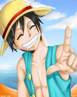 Monkey D. Luffy by LittleTasu