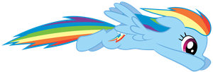 Glidin' Dashie by Chubble-munch